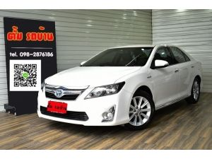 TOYOTA CAMRY 2.5 HYBRID DVD AT 2012 รูปที่ 0