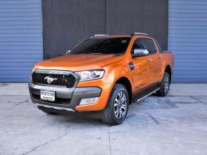 FORD RANGER DOUBLE CAB 2.2 WILDTRAK HI-RIDER A/T ปี2017 6กอ5108