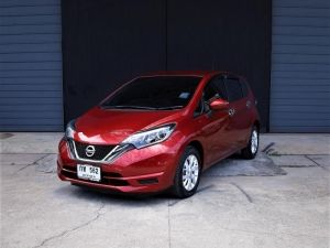 NISSAN NOTE 1.2 V A/T  2018 กท562