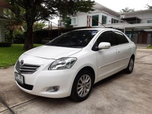Toyota Vios 1.5 G Limited AT ปี2010 สีขาว