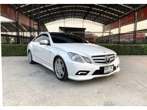 Mercedes Benz E200 CGI COUPE AMG  Sport Package ปี 2012 ไมล์ : 136,xxxkm.