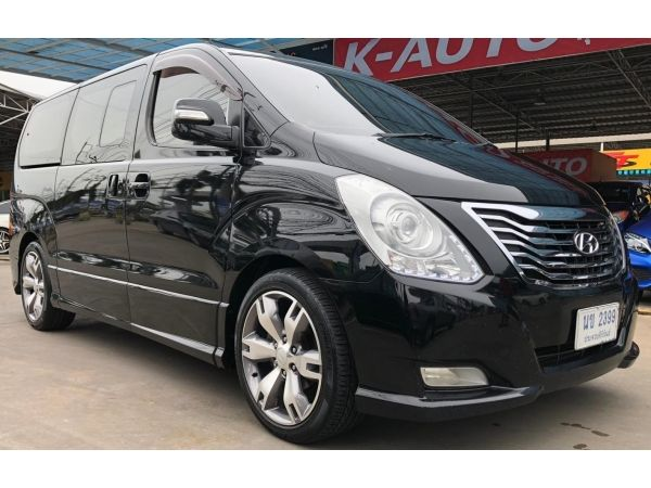 Hyundai  H1 2.5 Deluxe  AT ปี 2014  กระจังหน้าคลื่น