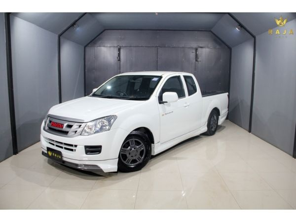 ISUZU D-MAX ALL NEW SPACECAB 2.5 S DDI 2015 สีขาว