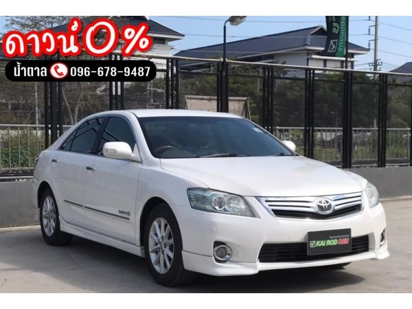 Toyota Camry 2.4 Hybrid AT ปี2009