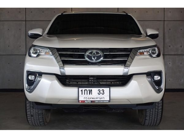2019 TOYOTA FORTUNER 2.8 V (ปี 15-18)  4WD SUV AT