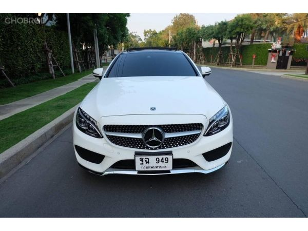 2018 Mercedes Benz C250 Coupe AMG Sport สีขาว