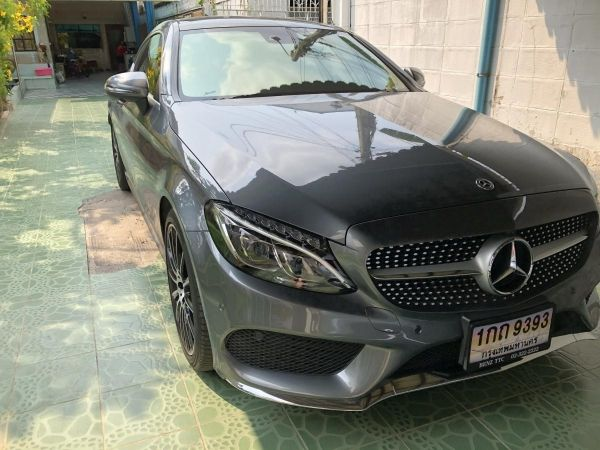 Benz C250 Coupe 2018 รูปที่ 0