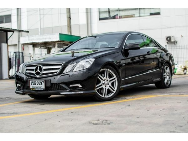 2011Mercedes Benz 1.8 E200 CGI Coupe รูปที่ 0