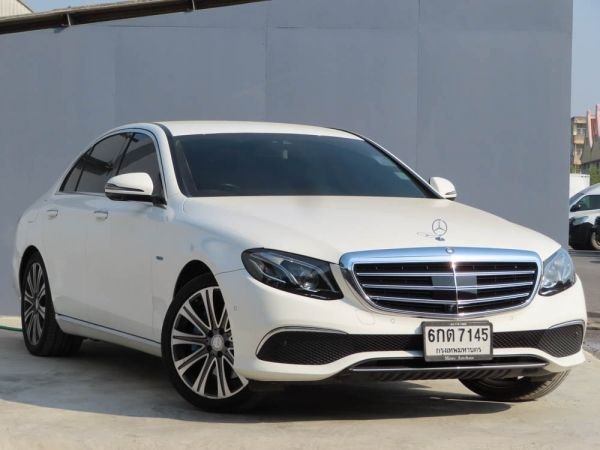 Mercedes Benz E350e Exclusive  ปี2017 ไมล์ 70,000 กม.