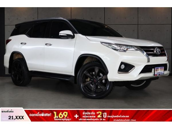 2017 Toyota Fortuner 2.8 TRD Sportivo SUV(ปี 15-18) B7117/777
