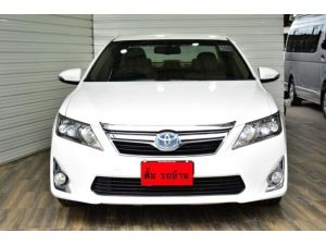 TOYOTA CAMRY 2.5 HYBRID DVD AT 2012 รูปที่ 1