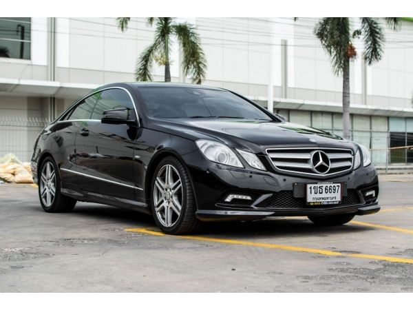 2011Mercedes Benz 1.8 E200 CGI Coupe รูปที่ 1